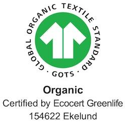 Vårfröjd handduk 35X50, 100% Ekologisk Bomull