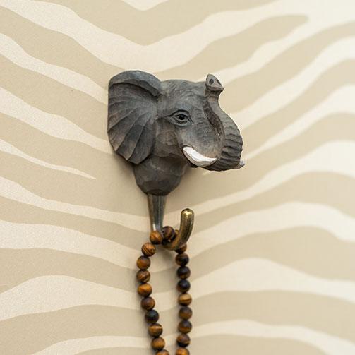 Handsnidad Krok Elefant