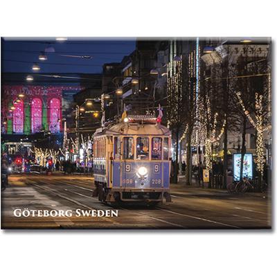 Vykort: Göteborg, spårvagn, 148 x 105 mm