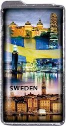 Tändare Sverige och flagga