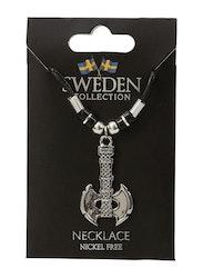 Halsband viking yxa