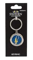 Nyckelring Sverige karta