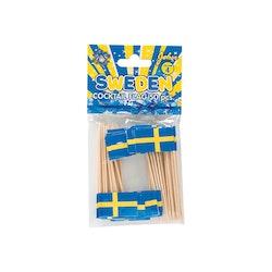 Cocktailflaggor i 50-pack