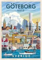 Postcard Göteborg 400 år 13x18cm