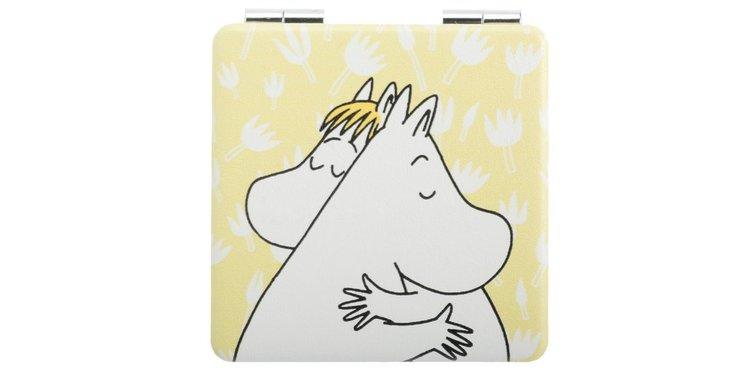 Spegel: Moomin kärlek gul