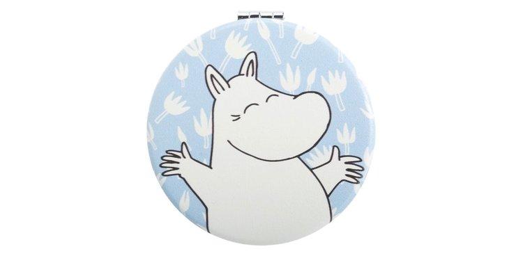 Spegel: Moomintroll glad