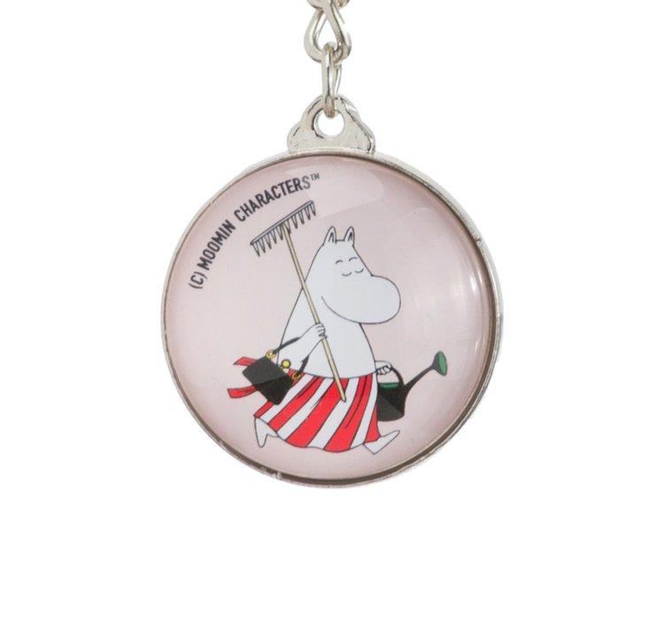Nyckelring: Moominmamma, Gul