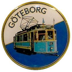 Pin Göteborg spårvagn