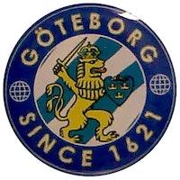 Pin Göteborgs vapen