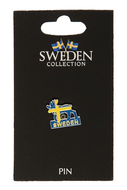 Pin älg Sweden
