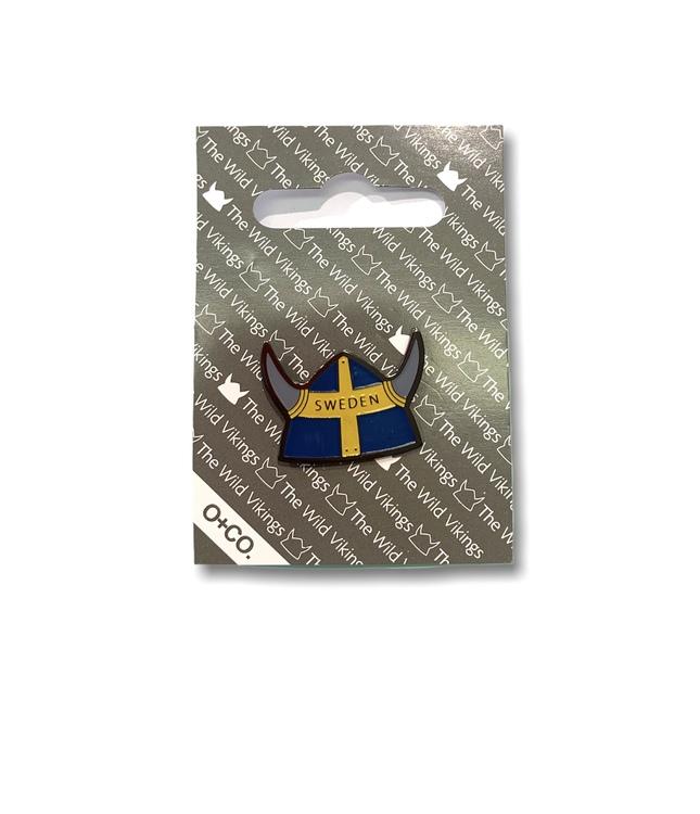 Pin vikingahjälm Sweden