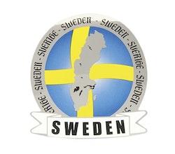 Dekal Sverige karta