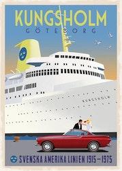 Postcard: Kungsholm Göteborg, 13x18cm