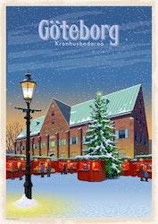 Postcard: Kronhusbodarna Göteborg, 13x18cm