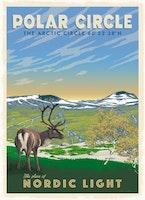 Postcard:  Polar Circle, 13x18cm