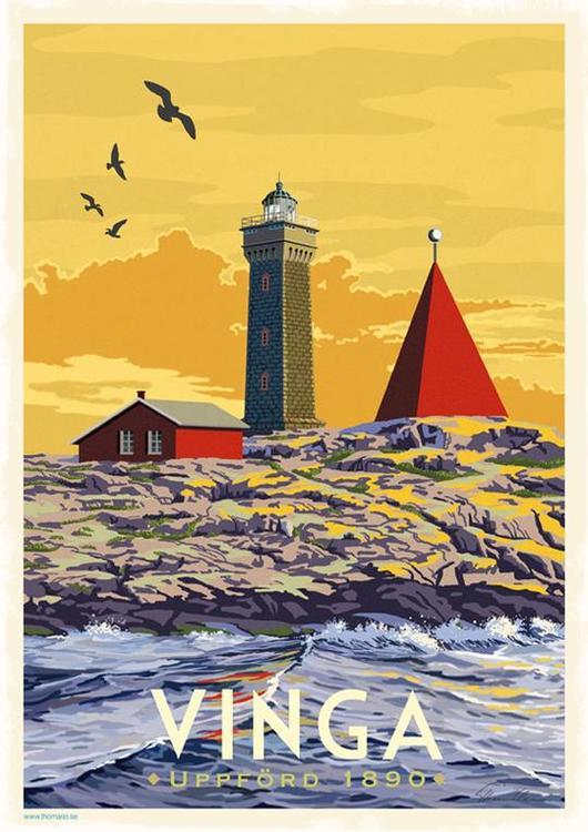 Postcard:  Vinga, 13x18cm