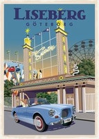 Postcard: Liseberg Göteborg, 13x18cm