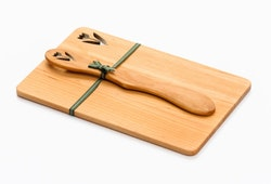 Smörgåsplatta med Smörkniv Tulpan