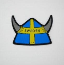 Tygmärke vikingahjälm