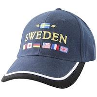 Keps Sweden, flaggor
