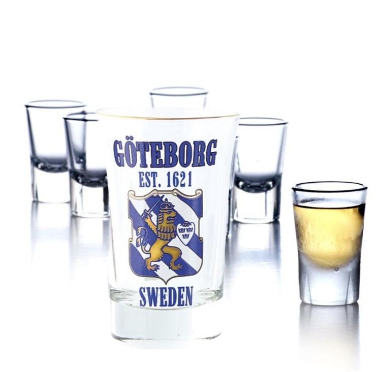 Shotglas Göteborg Est. 1621