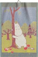 Lucky Tree handduk 35X50, 100% Ekologisk Bomull