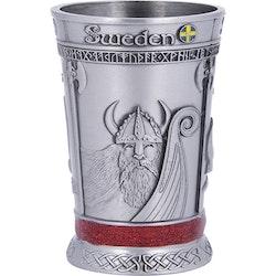 Shotsglas metall Viking