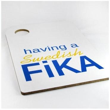 Skärbräda Having a Swedish Fika
