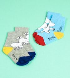 Baby 2 par strumpor: Moomintroll