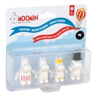 Moominfamilj figurer