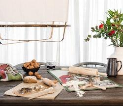 Julfest Handdukar 40X60, 100% Ekologisk Bomull