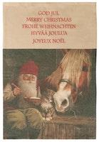 Handduk, god jul text på olika språk