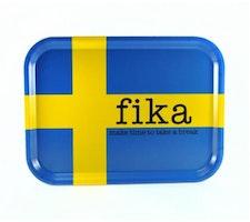 Bricka FIKA, Svensk flagga