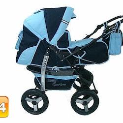 Kopia Barnvagn,Liggdel + Bilbarnstol + Babylift - 3in1 KAMIL