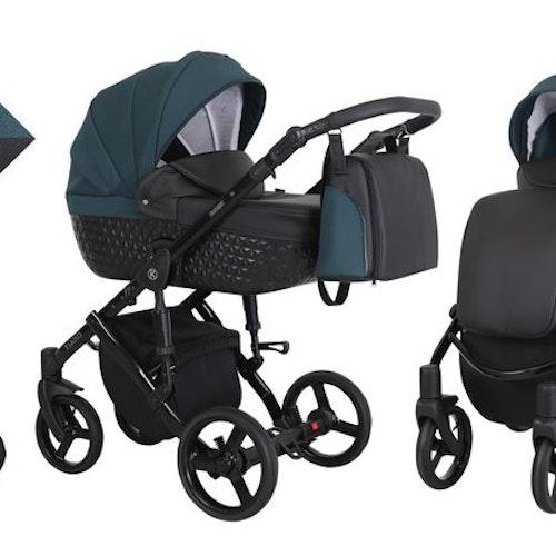 Barnvagn,Liggdel + Bilbarnstol + Sittdel - 3in1 Tiaro