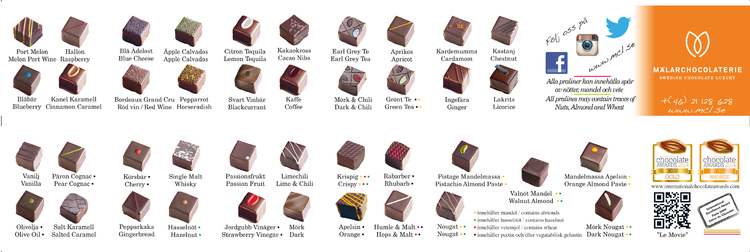 Chokladask 16