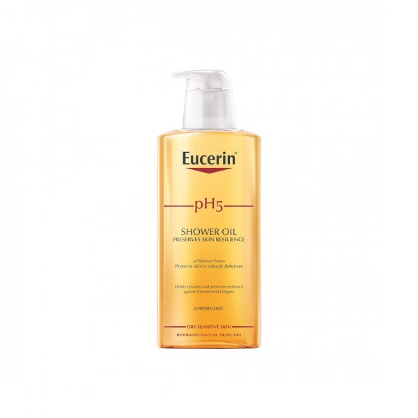 Eucerin pH5 Shower Oil oparfymerad 400 ml