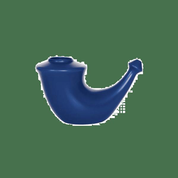 Rhino Horn nässköljningskanna blå