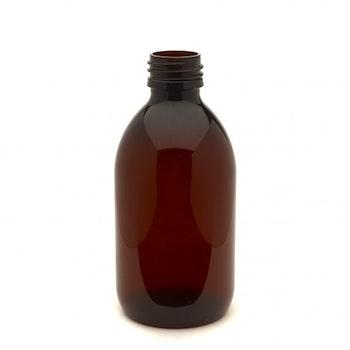 PET-flaska brun 500 ml sirop