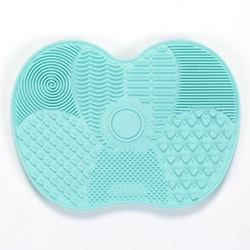 Makeup Brush Cleaning Pad Mat Mint grön