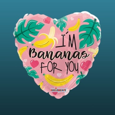 I´M Bananas for you Folieballong