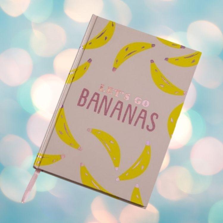 Anteckningsbok Go Bananas