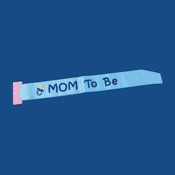 Ordensband MOM TO BE BLÅ