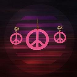 Hippie Smycke Kit NEON ROSA