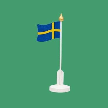 Svenska flaggan TRÄ