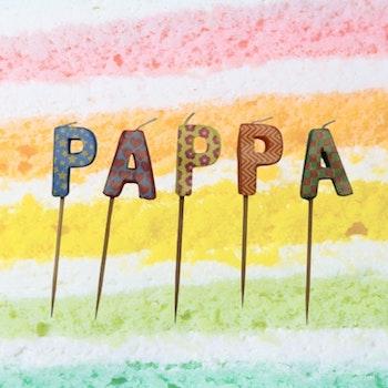 Tårtljus PAPPA