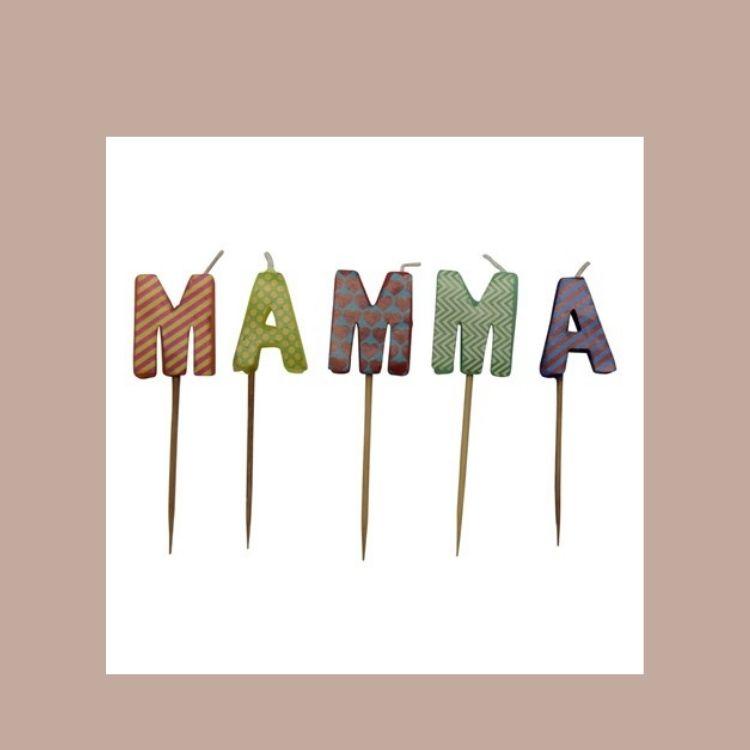Tårtljus MAMMA