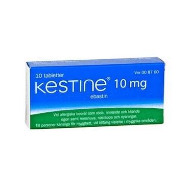 Kestine, filmdragerad tablett 10 mg 10 st