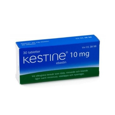 Kestine, filmdragerad tablett 10 mg 30 st