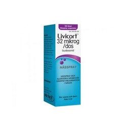 Livicort 32mg 120 doser